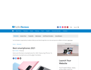 wireless-charger-review.toptenreviews.com screenshot