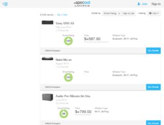 wireless-speakers.findthebest.com screenshot