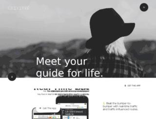 wireless.mapquest.com screenshot