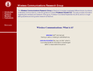 wireless.stanford.edu screenshot