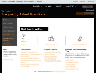 wirelessbackup.boostmobile.com screenshot