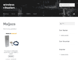 wirelesscihazlari.com screenshot