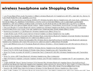wirelessheadphone.duckdns.org screenshot
