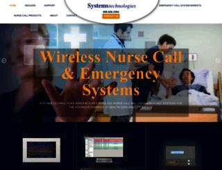 wirelessnursecall.com screenshot