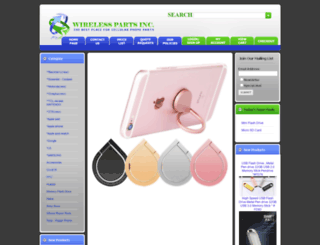 wirelesspartsinc.com screenshot