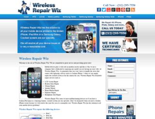 wirelessrepairwiz.com screenshot