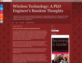 wirelesstechthoughts.blogspot.ae screenshot