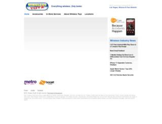 wirelesstoyz.com screenshot