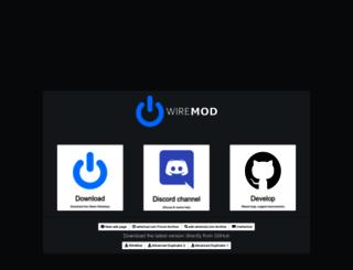 wiremod.com screenshot