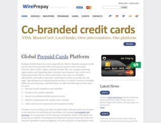 wireprepay.com screenshot