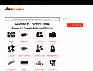 wirerealm.com screenshot