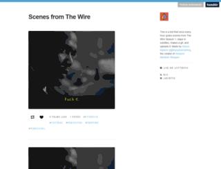 wirescenes.tumblr.com screenshot