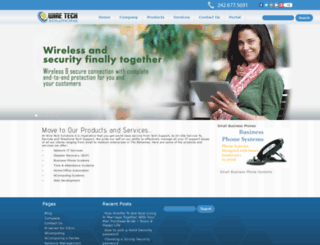 wiretechsolutions.net screenshot