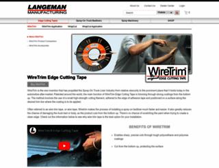 wiretrim.langeman.com screenshot