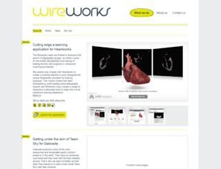 wireworksdigital.co.uk screenshot
