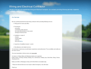 wiring-services.blogspot.com screenshot