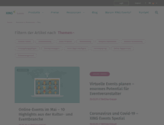 wirsind.amiando.com screenshot