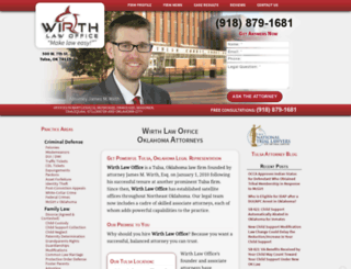 wirthlawoffice.com screenshot