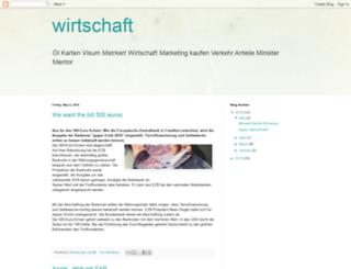 wirtschaft-g.blogspot.com screenshot