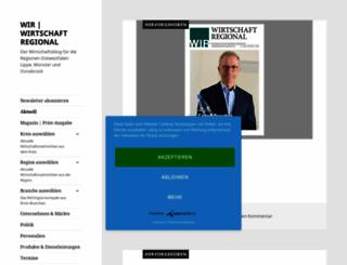 wirtschaft-regional.net screenshot
