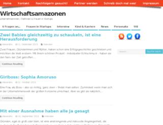 wirtschaftsamazonen.de screenshot