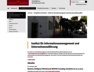 wirtschaftsinformatik.uni-osnabrueck.de screenshot