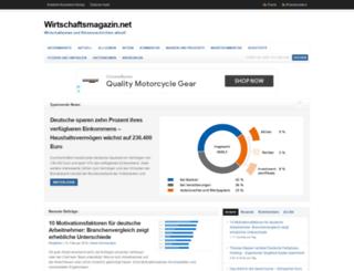 wirtschaftsmagazin.net screenshot