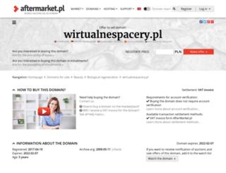 wirtualnespacery.pl screenshot