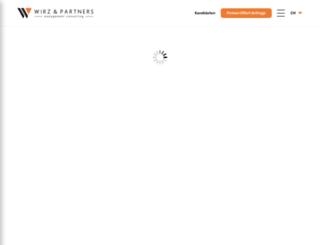 wirz-partners.ch screenshot