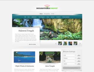 wisata.tokobunganusantara.com screenshot