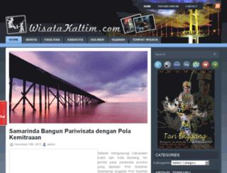 wisatakaltim.com screenshot