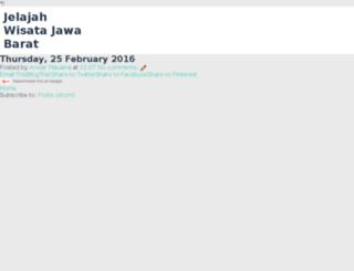 wisatamurahjabar.com screenshot