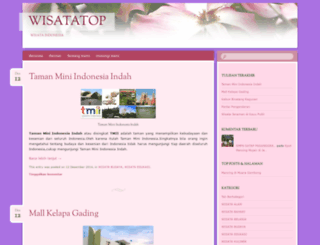 wisatatop.wordpress.com screenshot