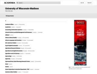 wisc.academia.edu screenshot