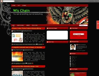 wischain.blogspot.com screenshot