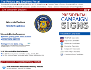 wisconsin.state-election.info screenshot