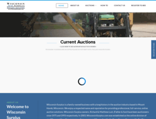 wisconsinsurplus.com screenshot