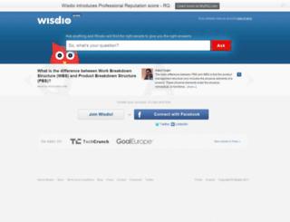 wisdio.com screenshot