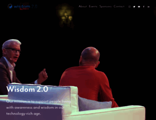 wisdom2summit.com screenshot