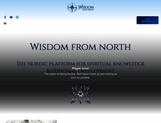 wisdomfromnorth.com screenshot
