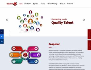 wisdomitservices.com screenshot