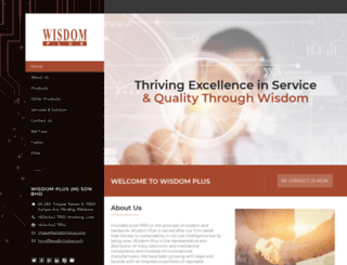 wisdomplus.com screenshot