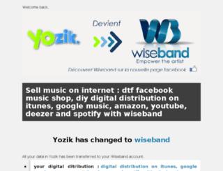 wiseband.fm screenshot