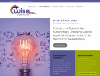 wisebarcelona.com screenshot