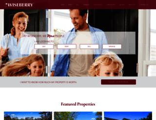 wiseberry.com.au screenshot