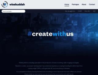 wisebuddah.com screenshot