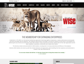 wisedirectory.org screenshot