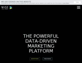 wisedmedia.com screenshot
