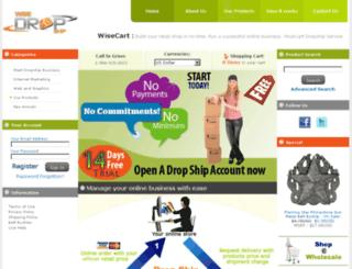 wisedropship.com screenshot