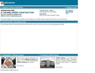 wisepromo.info screenshot